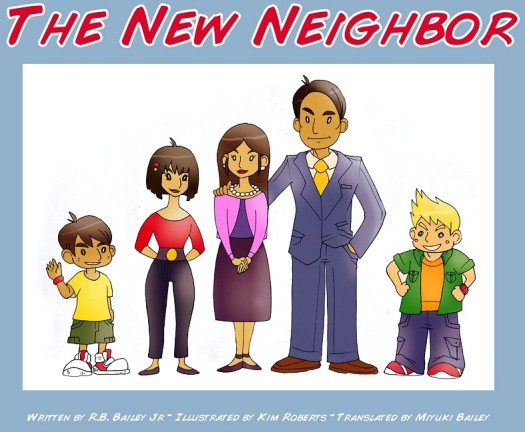 the-new-neighbor-title-page